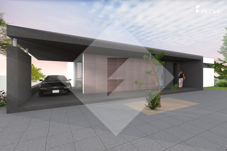 bauhaus bungalow by www.flow-architektur.de | bungalow moderne ... - Moderne Bungalows