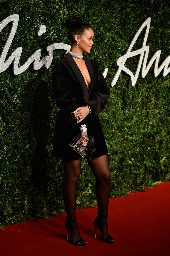 Rihanna - British Fashion Awards 2014