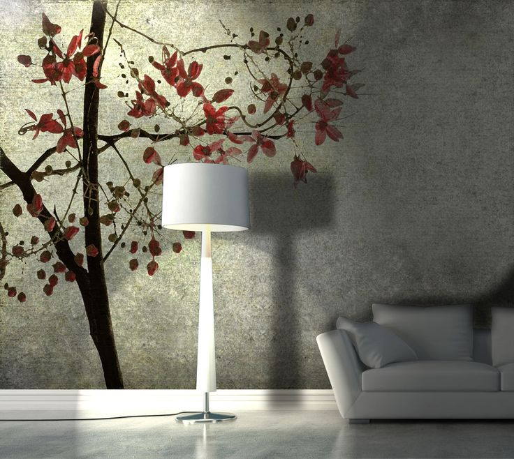 Albero d'autunno > Collezione Natural Instinct #wallpaper #mycollection #room #colour #design #home #office #living #natural