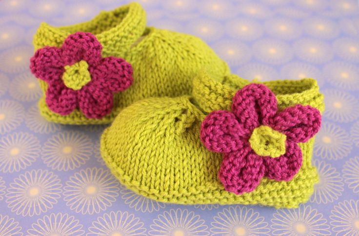 Lime Green Shoes, Baby Girl Booties, Baby Sandals, Mary Jane, Baby Shoes, Baby Sandals, Flower Booties, Cotton Booties, Hand Knit Booties by Pinknitting on Etsy
