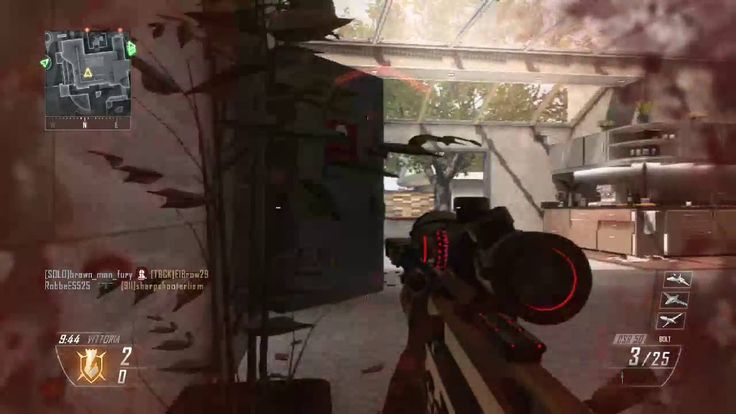 (2016) Call of Duty Black Ops 2 - DSR50 No Scope on Raid