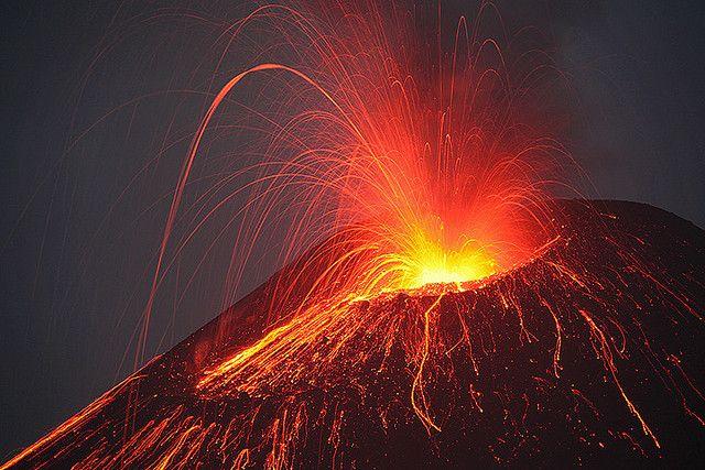 Active volcano like Oldonyo lengai tanzania