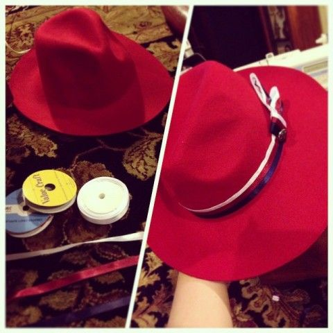 Lots of good pics of a Peggy Carter cosplayer on this site. Why must putting ribbon on a stupid hat be so difficult???