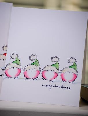 Cutey-cute little bird cards from the Penny Black blog.