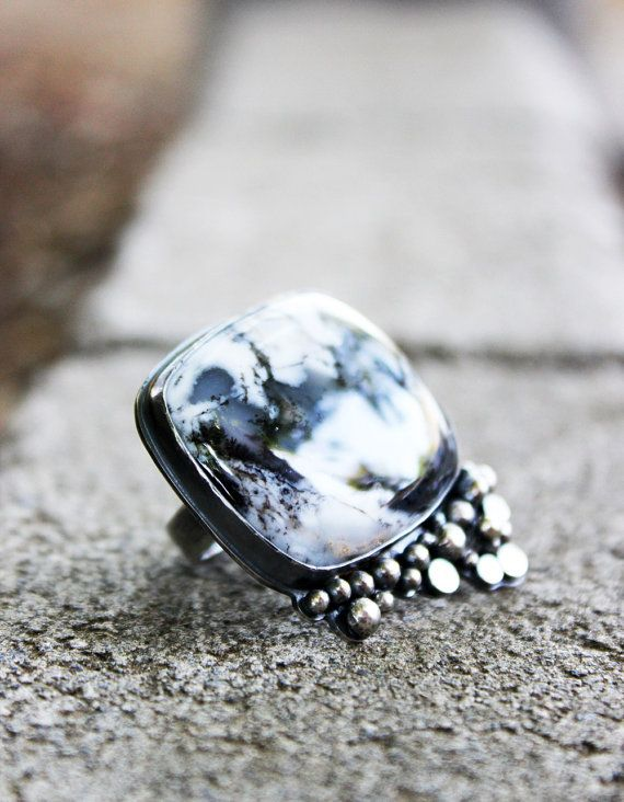 Tidal Pull Ring by littleWingedHeart on Etsy, $245.00