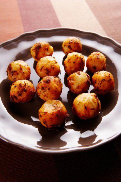 Οι πιο εύκολες και αφράτες κροκέτες με πατάτα, τυρί και ζαμπόν