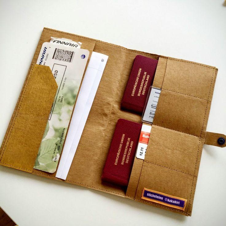 SnapPap ist das große neue Ding unter Nähnerds. Für den Urlaub habe ich mir daraus ein Reiseetui für alle wichtigen Unterlagen genäht.