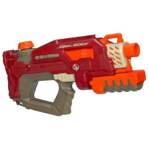 Nerf Super Soaker Rattler Water Blaster - http://geekarmory.com/nerf