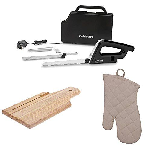 Cuisinart Cek 120 Cordless Lithium Electric Knife Bread