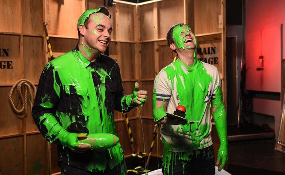 Nickelodeon Slimes 'UK TV Legends' Ant & Dec! - News - Official Ant & Dec #antanddec