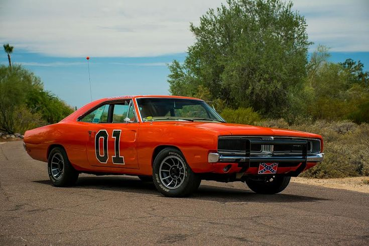 """◆1969 Dodge Charger """"General Lee"""" From The Dukes Of Hazard TV Series◆"""