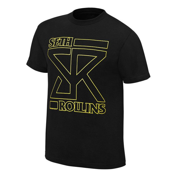 WWE SETH ROLLINS OFFICIAL NEW LICENSED AUTHENTIC ADULT MENS T-SHIRT LARGE - http://bestsellerlist.co.uk/wwe-seth-rollins-official-new-licensed-authentic-adult-mens-t-shirt-large/