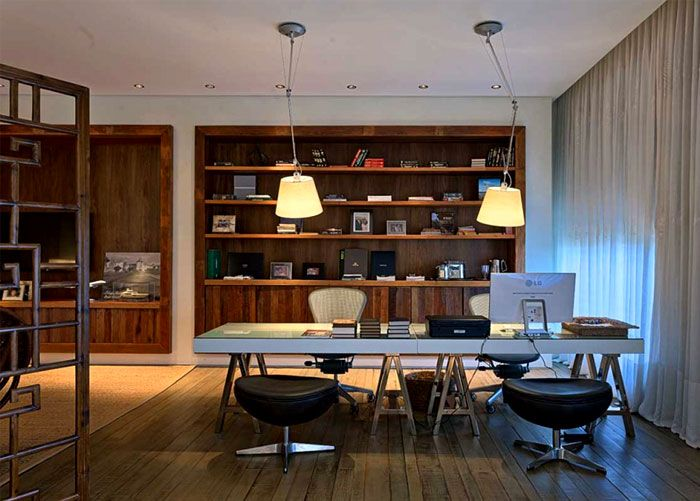 Luxurious Casa Nova Lima with Dramatic Landscape Compositions casa nova lima