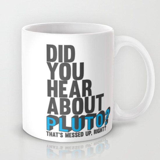did you hear about pluto.. psych tv show by studiomarshallgifts