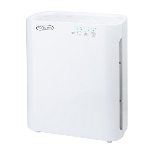 The Ionmax Breeze ION420 Air Purifier features 5 stages of air purification to ensure the cleanest, healthiest indoor air quality possible for your home or office. Integrating a 3-in-1 filter that consists of a pre-filter, HEPA filter and an Activated Carbon Filter; a negative ioniser, and UV-C light for sterilisation, the Ionmax Breeze ensures complete air purification performance for your whole home.  The Ionmax Breeze is powerful, efficient, and easy to use.