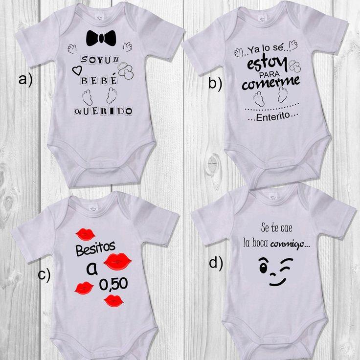 Bodys Personalizados Para Bebés De 0 A 24 Meses - Bs. 25.000,00
