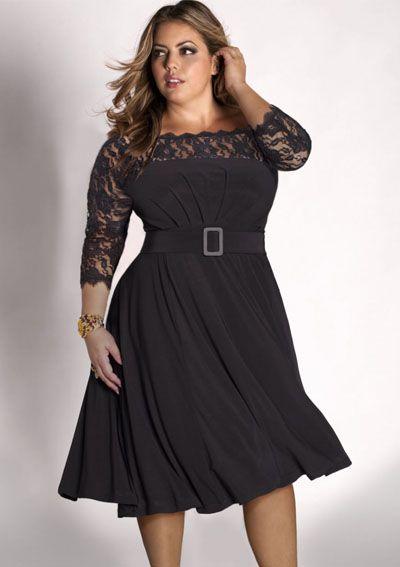 Festkjoler Store Størrelser Sicilia kjole