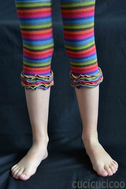 make new leggings out of old tights - Cucicucicoo