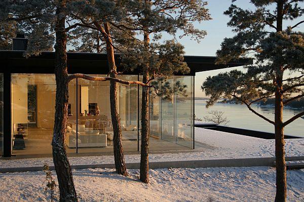 Luxurious Swedish villa designed by John Robert Nilsson. Gorgeous! interiorarcade.com