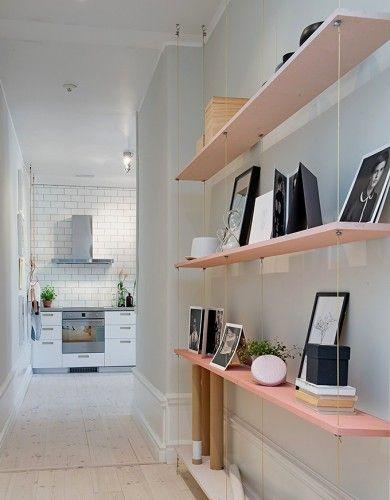 décoration,astuce, étagère, shelves
