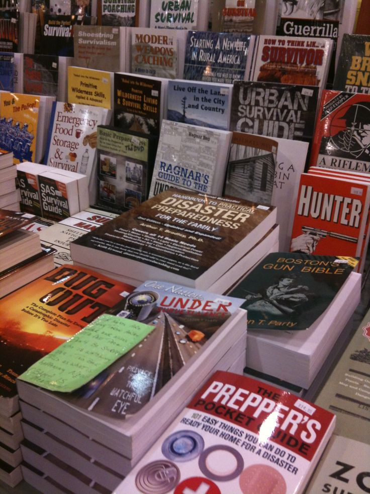 Why Books Should Be Part Of Your Bug Out Bag Emergency