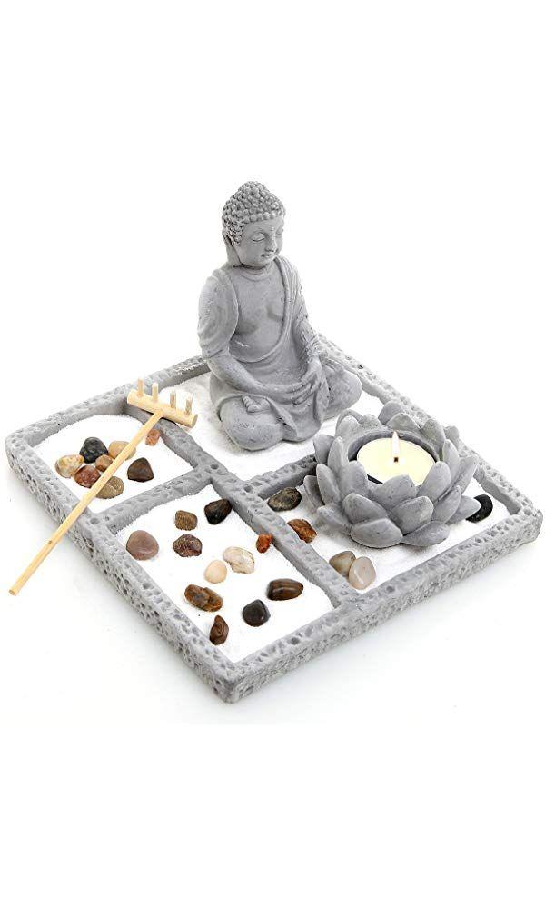Amazon Com Interesting Finds Zen Garden Zen Buddha Garden Buddha Garden