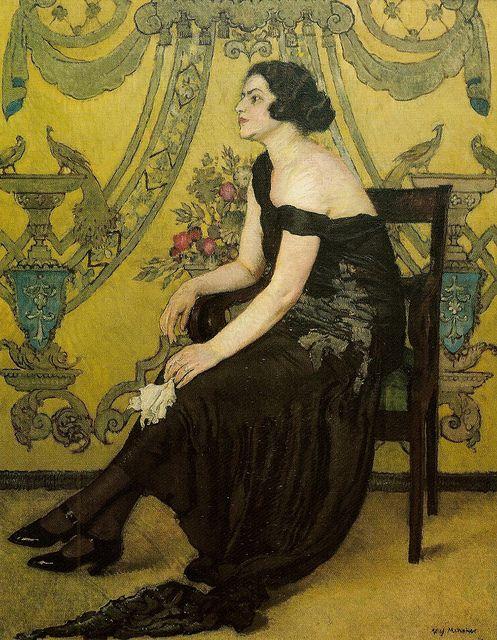 "Józef Mehoffer ""Róża Saaronu"" 1923 by Art & Vintage, via Flickr"