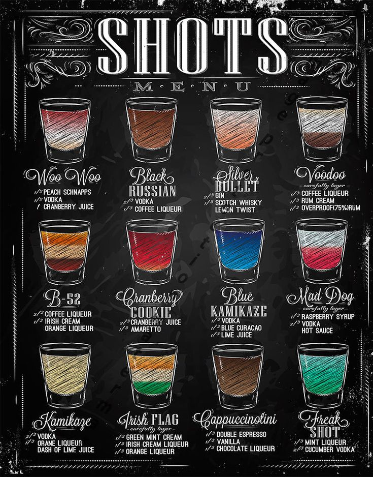 shots menu large metal tin sign poster retro style wall art pub bar decor in home - Home Bar Decor