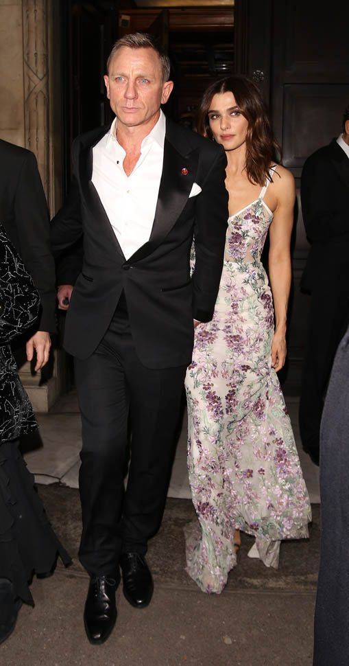 Daniel Craig and Rachel Weisz greet Prince William and Prince Harry at the Bond Spectre premiere in London|Lainey Gossip Entertainment Update