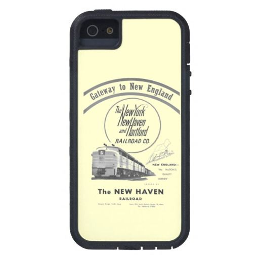 Gateway to New England, New Haven Railroad iPhone 5 Cover The New York, New Haven and Hartford Railroad (commonly known as the New Haven), (reporting mark NH) was a railroad that operated in the northeast United States from 1872 to 1969