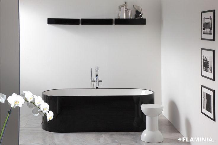 Vasche e sistemi doccia/Bath-tub and shower system - OVAL - G. Cappellini, 2012  #Ceramic #Design #Bathroom