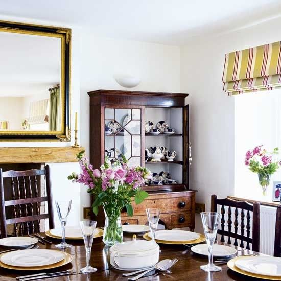 Dark Wood Is The Perfect Backdrop For Touches Of Gold Subtle Hints Colour Are Dining RoomsDining Room