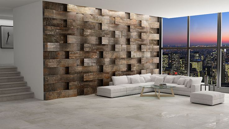 Cast Iron Collection #Apavisa #design #architecture #metal #tile #porcelain