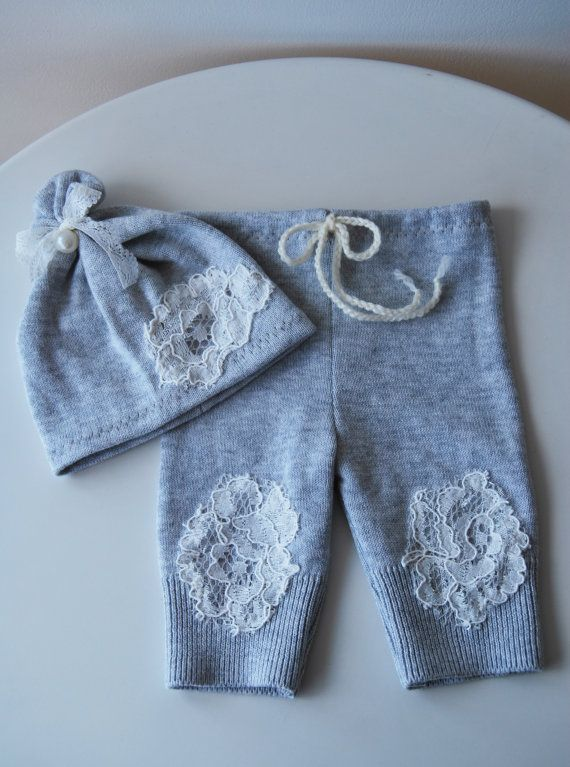 Newborn Upcycled Set Newborn Pants Prop & by LovelyBabyPhotoProps, $25.00