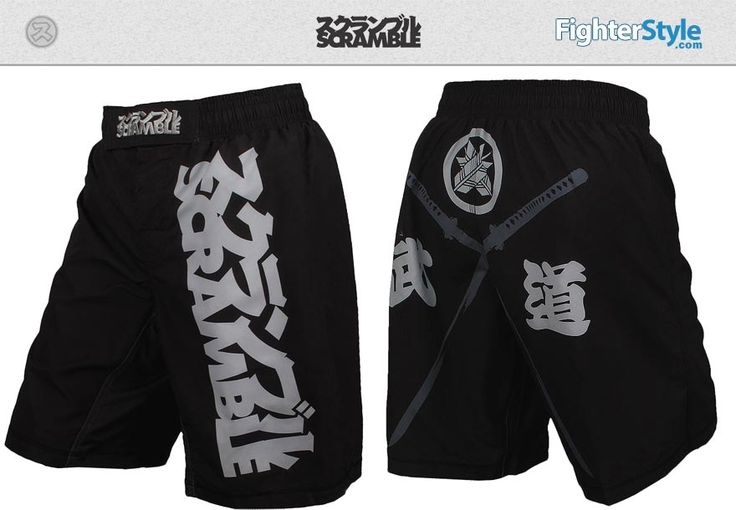 Scramble Crossed Swords MMA Shorts at http://www.fighterstyle.com/scramble-crossed-swords-mma-shorts/