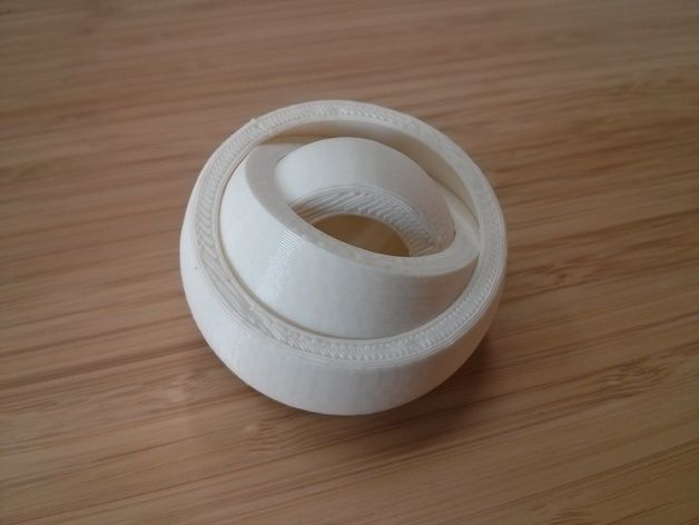 Gyro rotating rings by Leoparder - Thingiverse