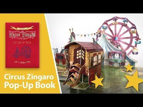 Circus Zingaro: A Pop-Up Book by Tina Kraus - YouTube