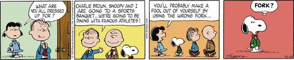 Peanuts Comic Strip, December 26, 2016     on GoComics.com
