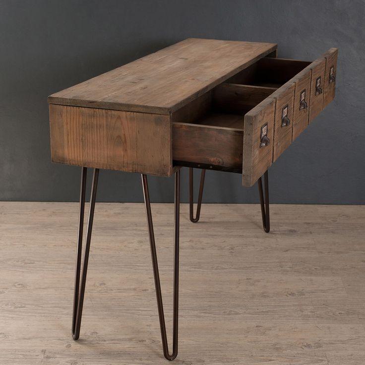 les 25 meilleures id es de la cat gorie console 1 tiroir. Black Bedroom Furniture Sets. Home Design Ideas