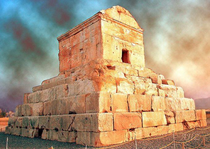 Tomb of Cyrus the Great, Born: Anshan, Iran    Died: December 4, 530 BC, Syr Darya.    Buried: Pasargadae, Iran Wikipedia
