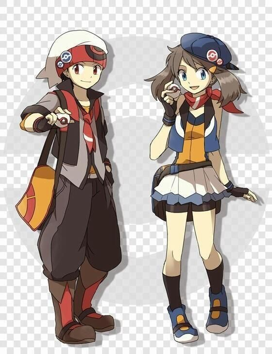 Pokemon Omega Ruby & Alpha Sapphire Remakes Announced for 3DS found this someone did a great job on these guys than so close what might look like or at least what i would like to see because i love X and Y art style