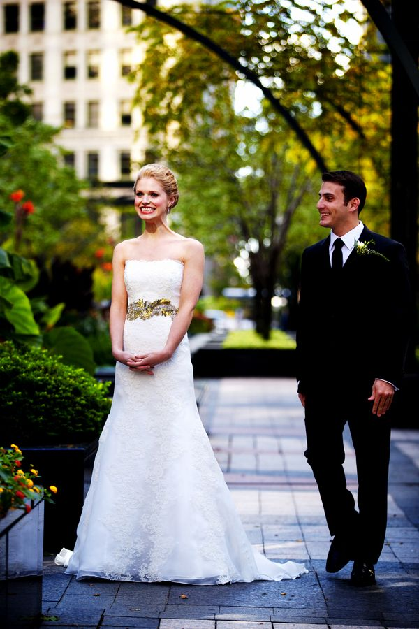 Glamorous Chicago Wedding At Intercontinental Hotel