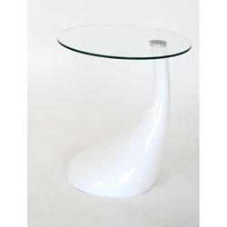 Existing White End Table