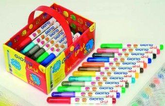 Giotto Be-Be fibre colouring pens