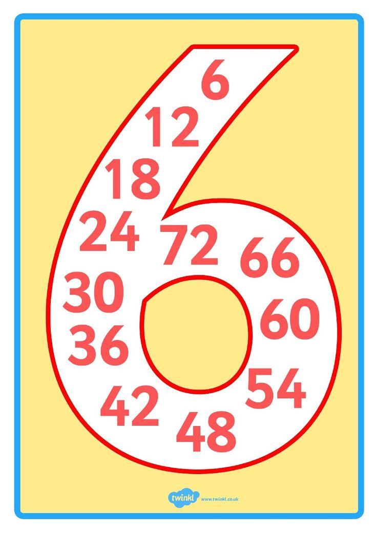LA-TABLA-DEL-6.jpg (1131×1600)