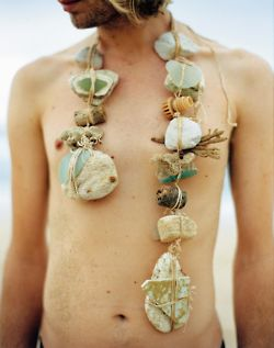 body rocks instead of body flowers...styling by shane power