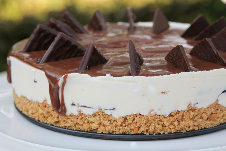 Mintcheesecake / aftereight-cheesecake
