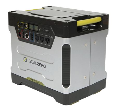 """Gas generator killer? Solar-chargeable electric power station from Goal Zero"""