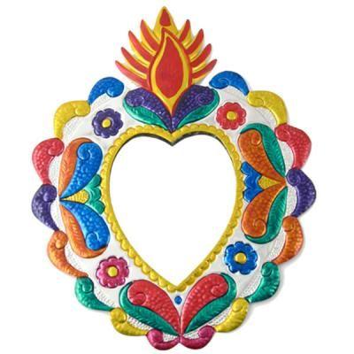 Mexican art heart