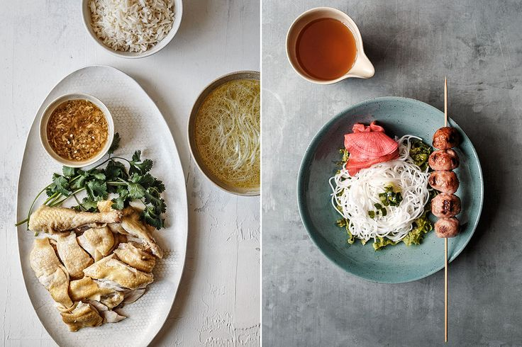 The Slanted Door | Photography by Ed Anderson on Behance dbO Home Honeycomb Small Oval Platter on pictured at left